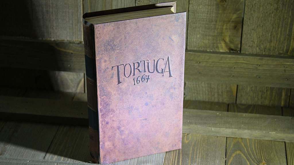 Tortuga 1667 – Pirate Board Game in a Book
