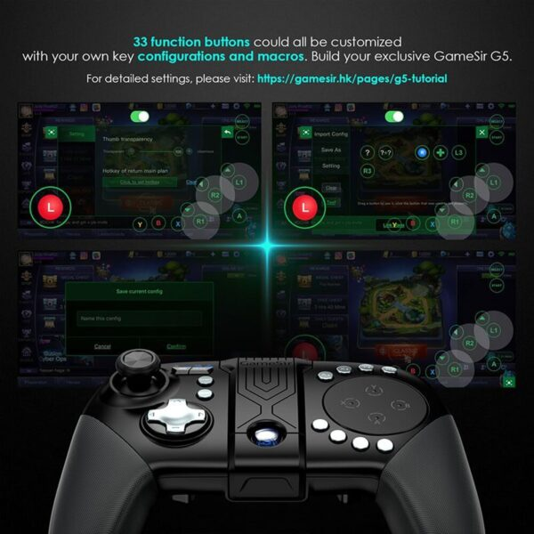 Bluetooth Wireless Game Controller