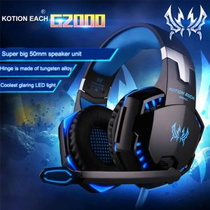 Gamer Headphones Gaming Mouse