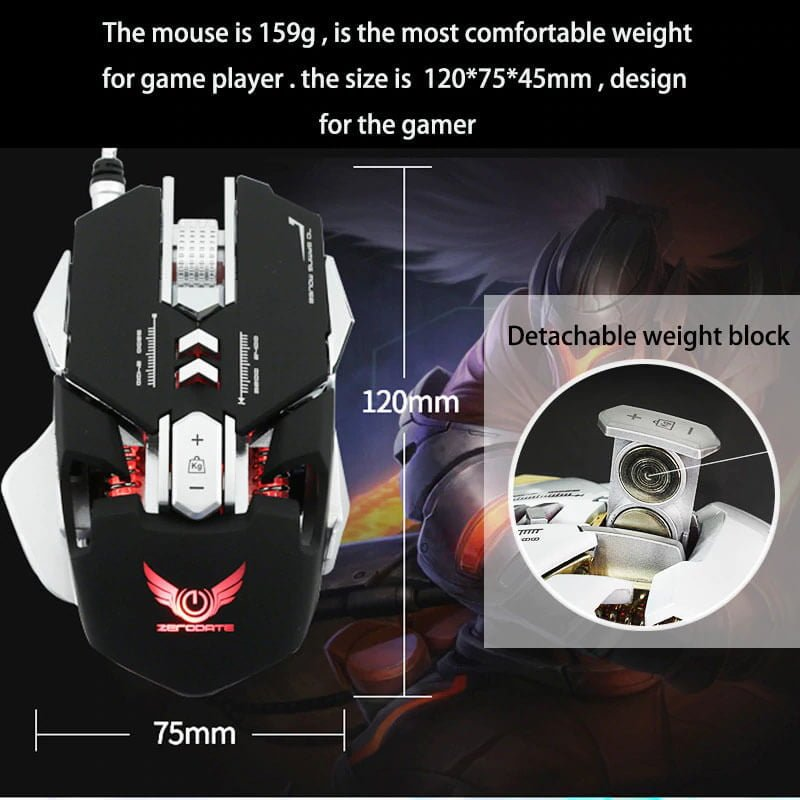 Gaming Programmable Mouse