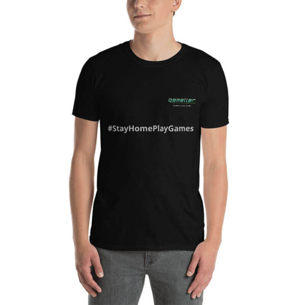 Gaming Stay Home Play Games Gamers T-shirt