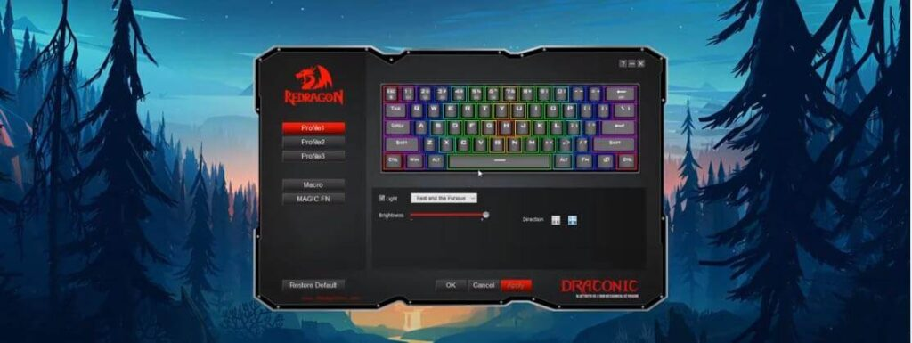 Redragon K530 Draconic Wireless Keyboard